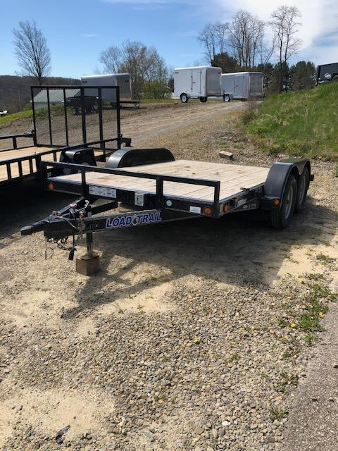 2017 Load Trail CAR HAULER Car / Racing Trailer