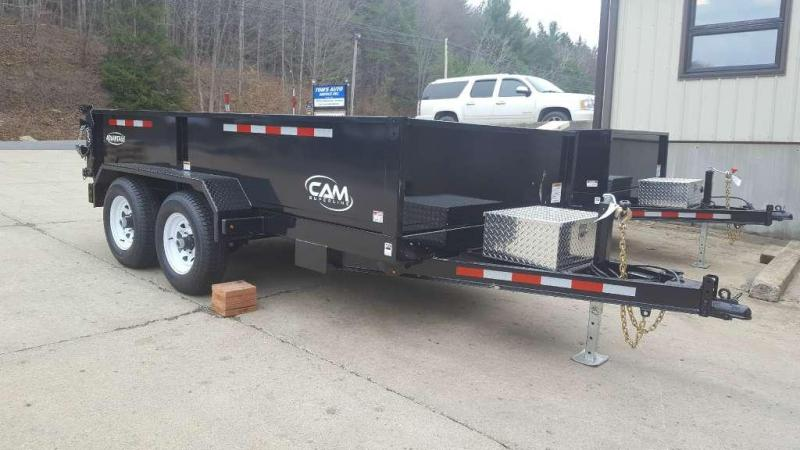 CAM 10-612LPDT-GR Dump Trailer