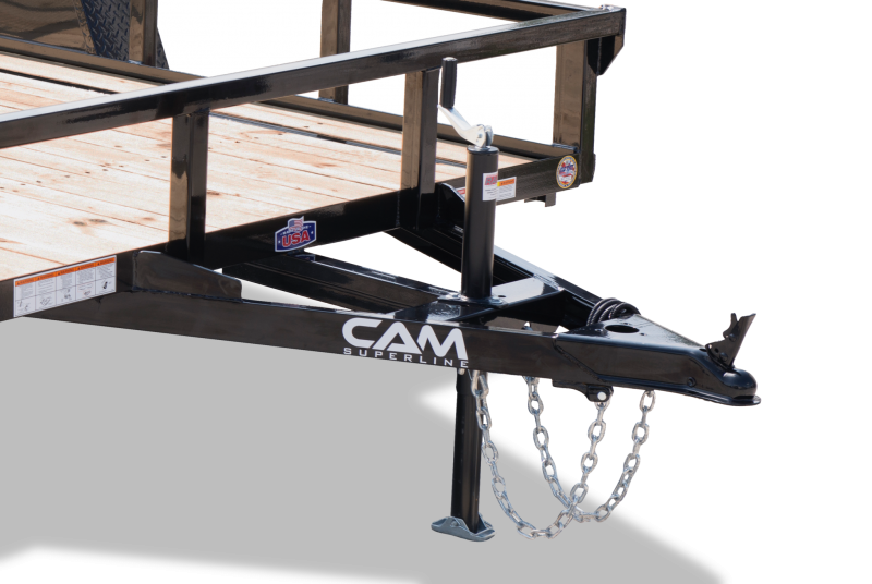 CAM 712TA Utility Trailer