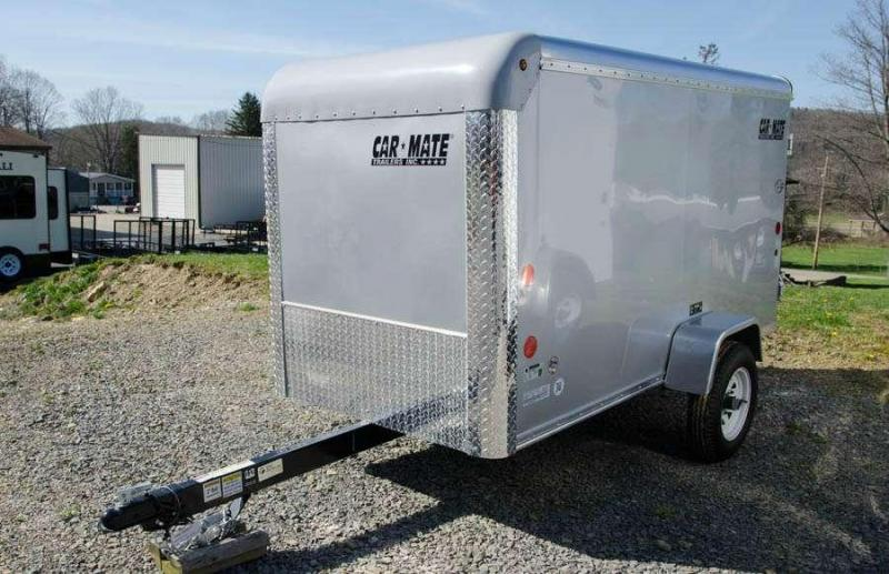 Car Mate Trailers 4 x 8.5 Custom Enclosed Cargo Trailer