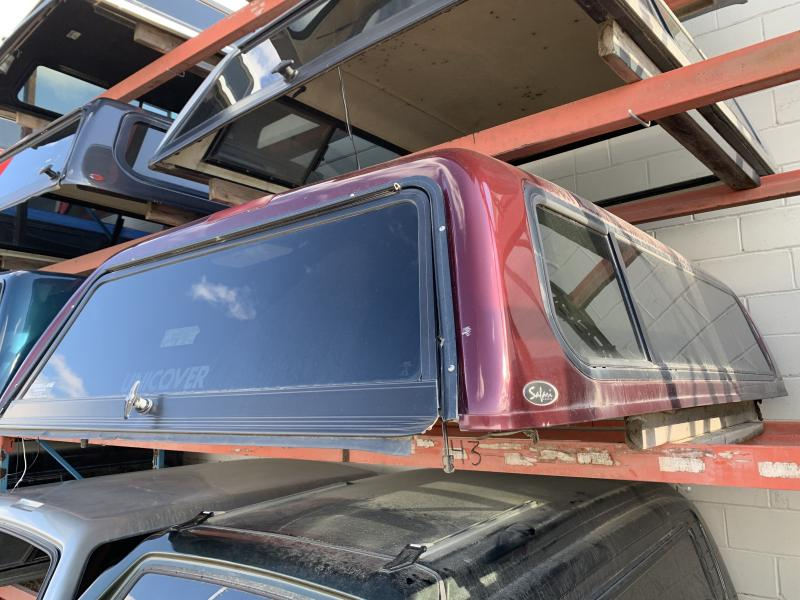 43 - UNICOVER 8FT TRUCK TOPPER (RAM 94-02)