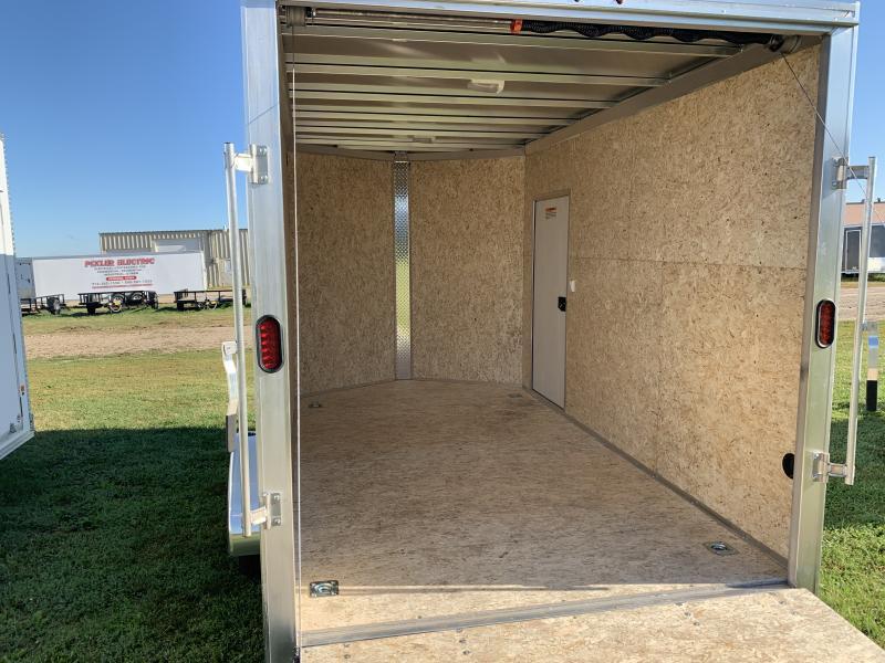 2019 Alcom-Stealth 7X12 Enclosed Cargo Trailer