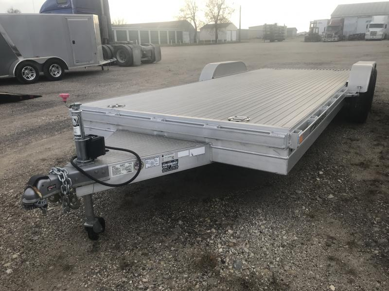 2014 FEATHERLITE 3110 8.5' X 20' OPEN CAR TRAILER