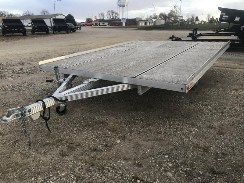 2017 SNOPRO 8.5' X 12' OPEN SNOWMOBILE TRAILER
