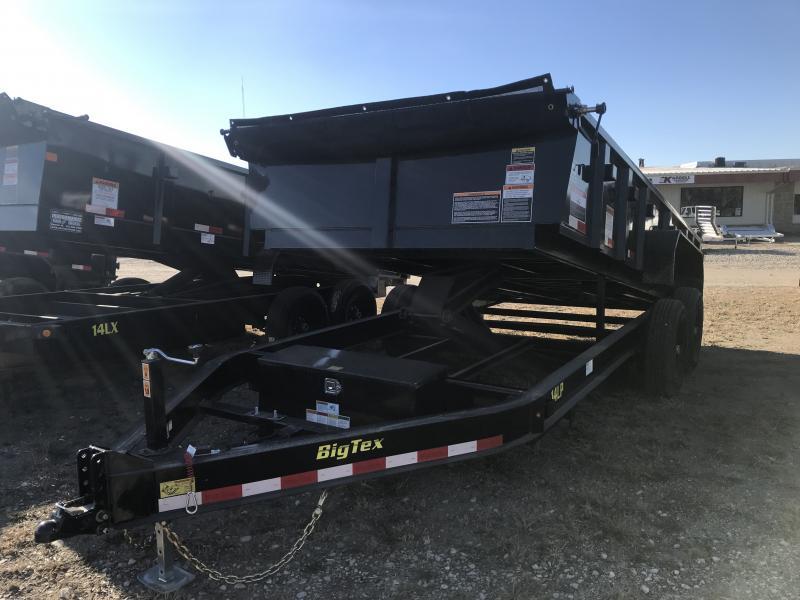 2019 BIG TEX 14LP 7' X 16' DUMP TRAILER