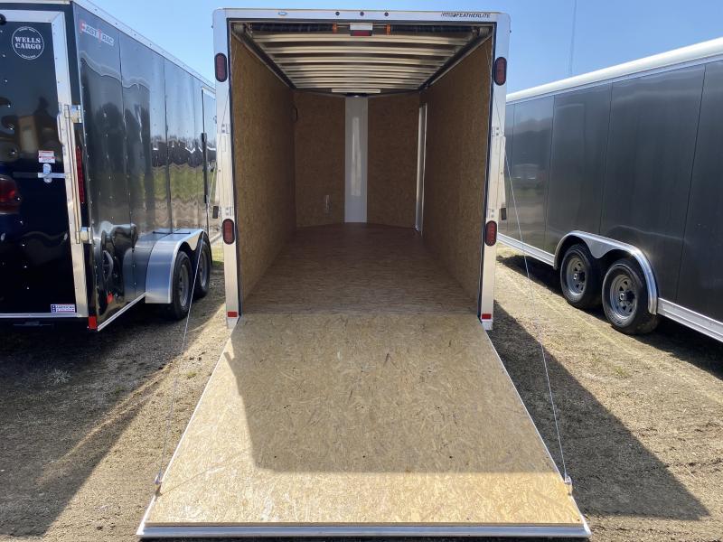 """2020 Featherlite 6'7"""" X 16' Cargo / Enclosed Trailer"""
