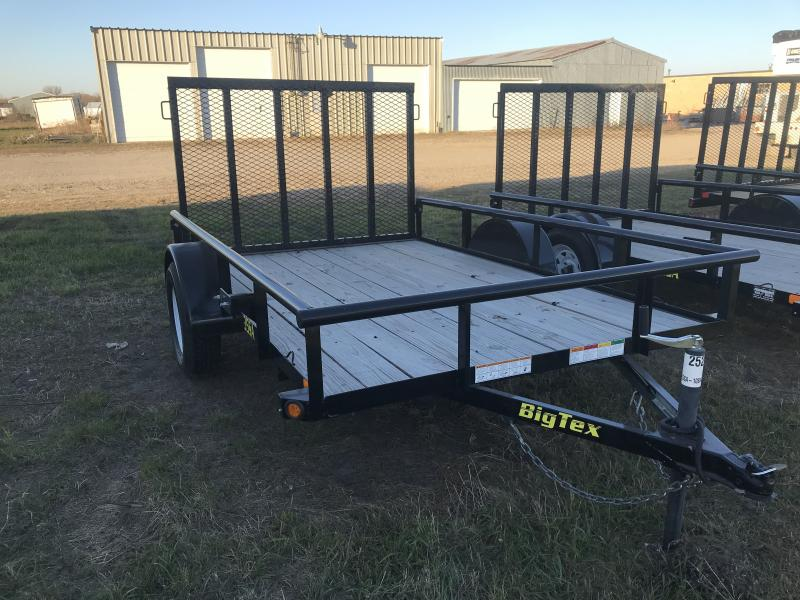 2018 BIG TEX 35SA 6.5' X 10' OPEN UTILITY TRAILER