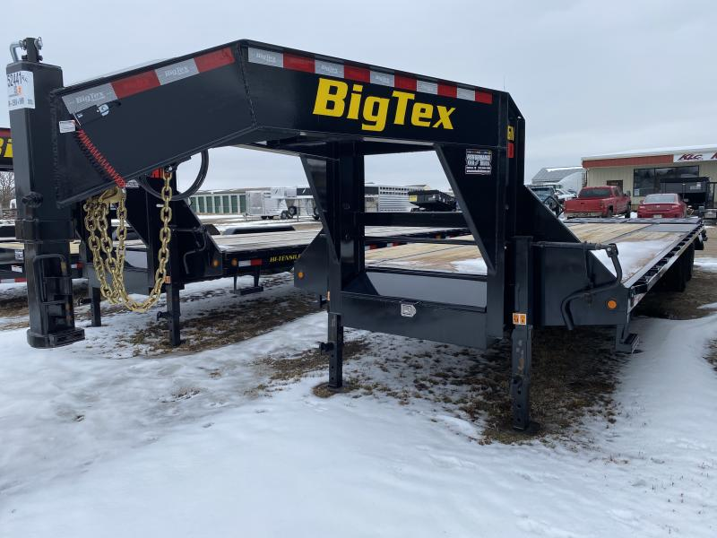 2020 Big Tex Trailers 22GN 25' + 5' Flatbed Trailer