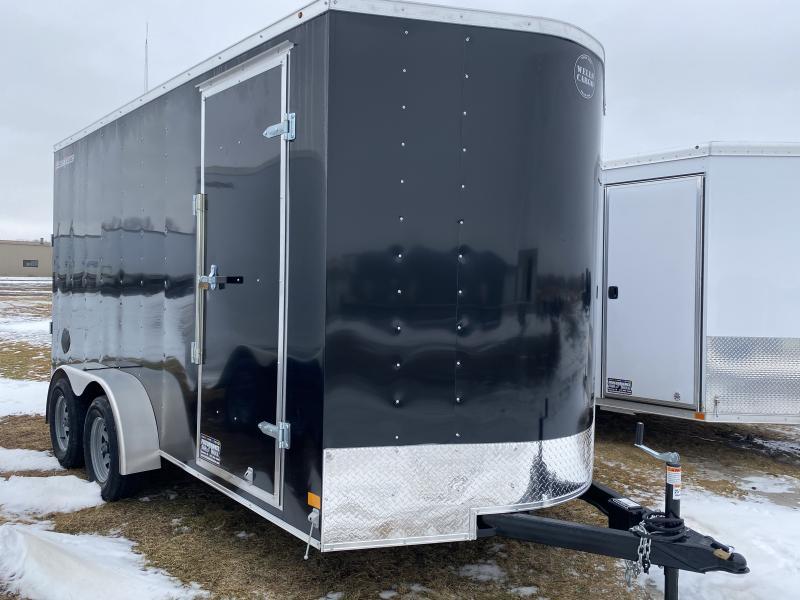 2020 Wells Cargo 7' X 14' Enclosed Cargo Trailer