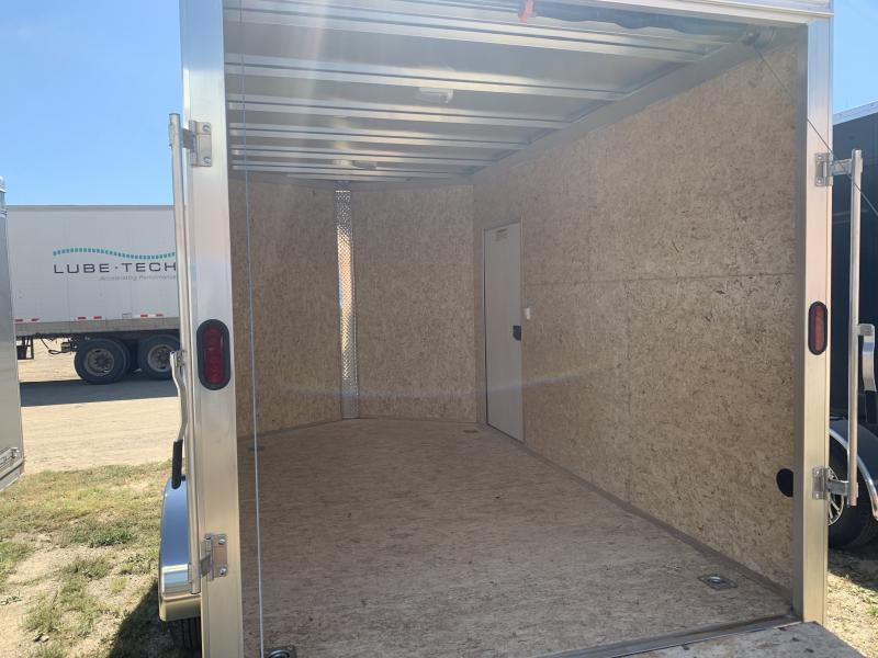 2019 Alcom-Stealth 7X12 Enclosed Cargo Trailer