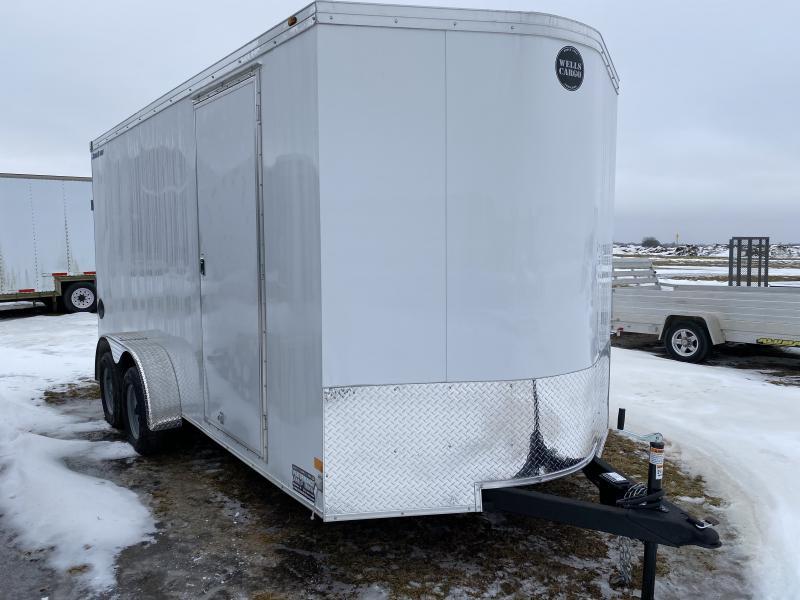 2020 Wells Cargo 7' X 16' Enclosed Cargo Trailer