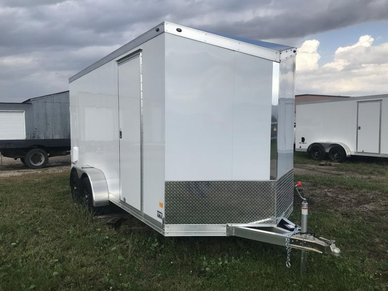 2018 WELLS CARGO SILVERSPORT 7' X 16' ENCLOSED CARGO TRAILER