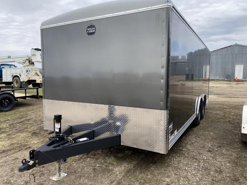"2020 Wells Cargo 8'6"" X 20' Cargo / Enclosed Trailer"