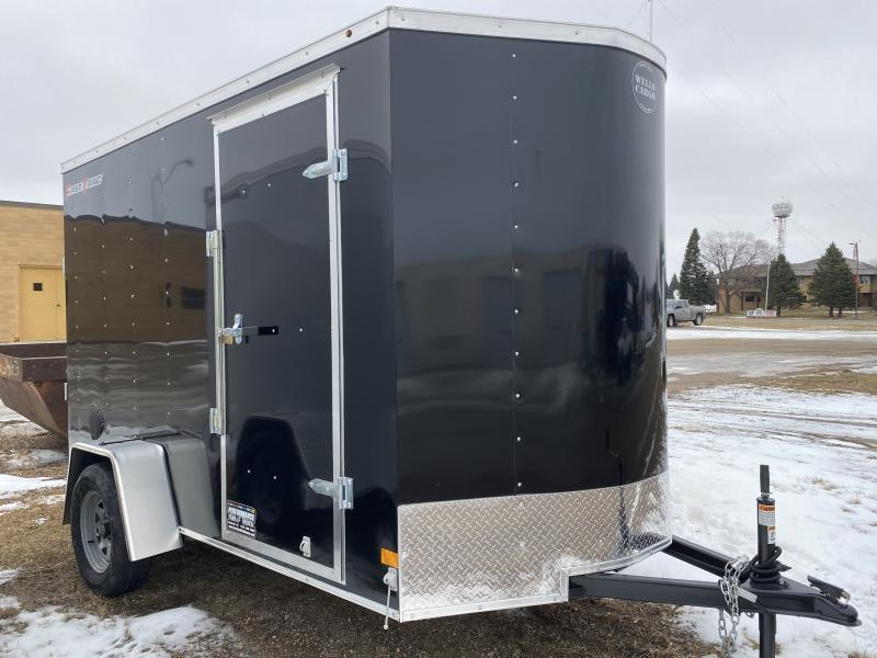2020 Wells Cargo 6' X 10' Enclosed Cargo Trailer