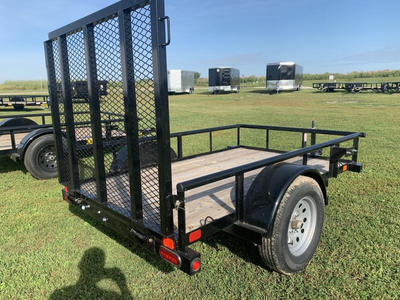 2019 Big Tex Trailers 30SA 5x8 Utility Trailer