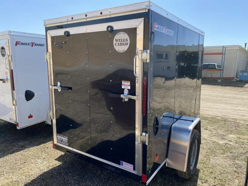 2020 Wells Cargo 5' X 8' Enclosed Cargo Trailer