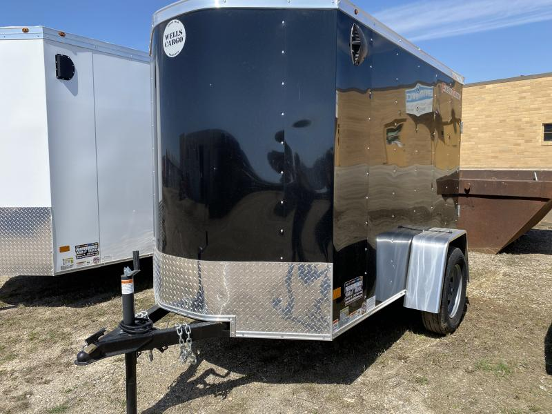 2020 Wells Cargo 5' X 8' Enclosed Cargo Trailer