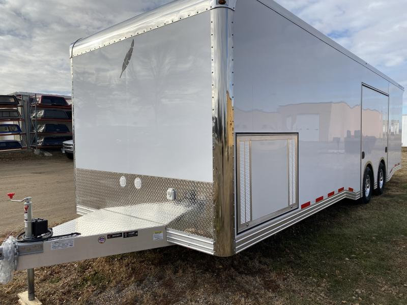 2020 Featherlite 8'6 X 28' Car / Racing Trailer
