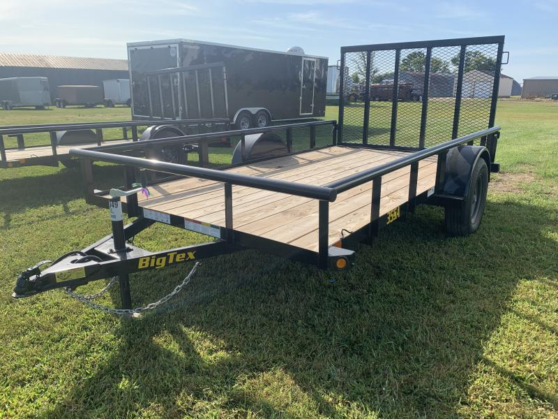 "2020 Big Tex Trailers 35SA 77"" x 12' Utility Trailer"