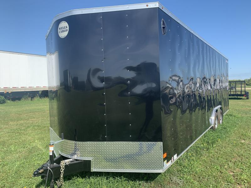 2019 Wells Cargo 8.5x24 Enclosed Car Trailer