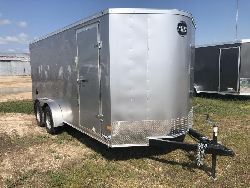 2019 Wells Cargo 7X16 Enclosed Cargo Trailer