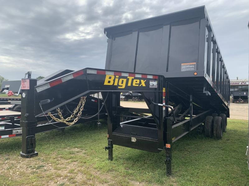 "2019 Big Tex Trailers 25DU 92"" x 20' Dump Trailer"