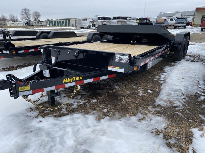 2020 Big Tex Trailers 16TL-22BK Equipment Trailer