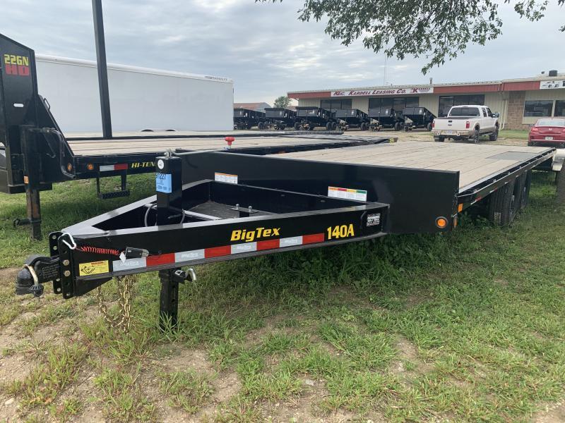 2019 Big Tex Trailers 140A 8.5' x 20' Equipment Trailer
