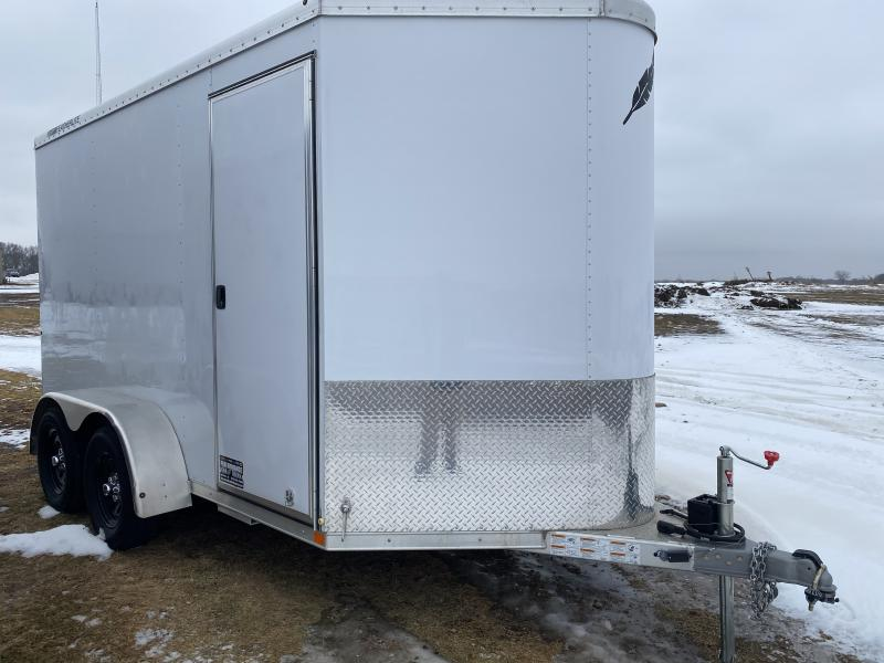 2019 Featherlite 6'7 X 12' Enclosed Cargo Trailer