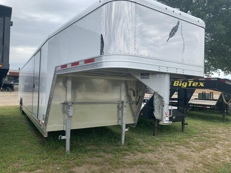 2020 Featherlite 4941 8.5' x 32' Gooseneck Car / Racing Trailer