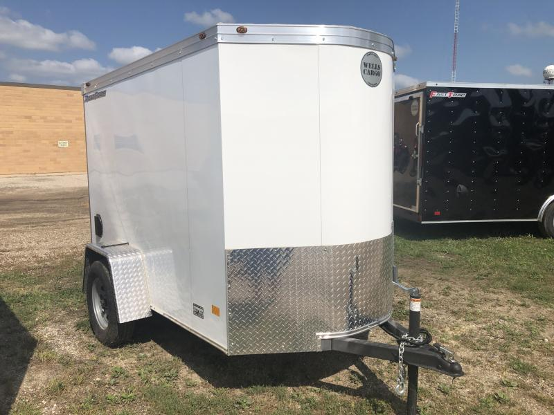 2019 Wells Cargo 5X8 Enclosed Cargo Trailer
