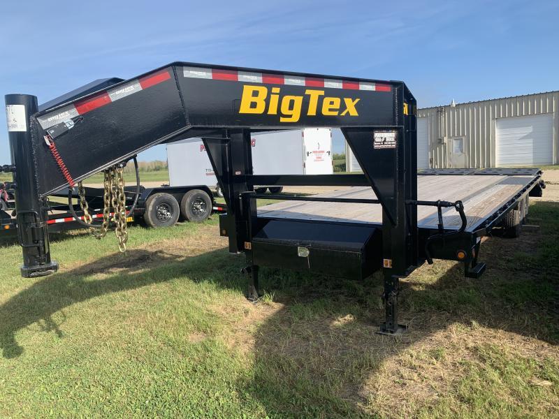 2019 Big Tex Trailers 14GN 8.5 x 20' + 5' Gooseneck Equipment Trailer