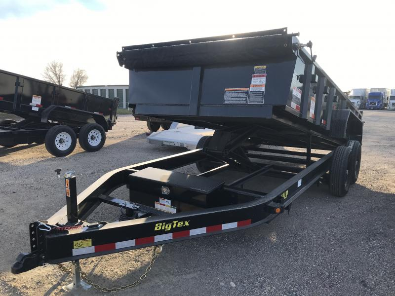 2019 BIG TEX 14LP 7' X 16' DUMP TRAILER