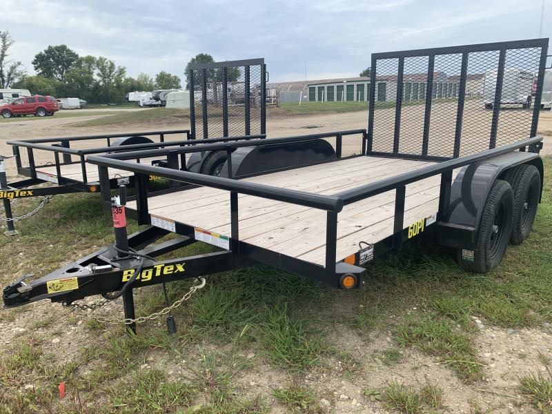 "2019 Big Tex Trailers 60PI 77"" x 12' Utility Trailer"