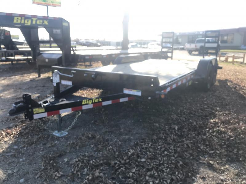 2019 BIG TEX 10ET 7' X 18' EQUIPMENT TRAILER