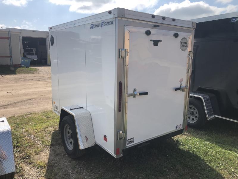 2019 Wells Cargo 5X8 Enclosed Cargo Trailer