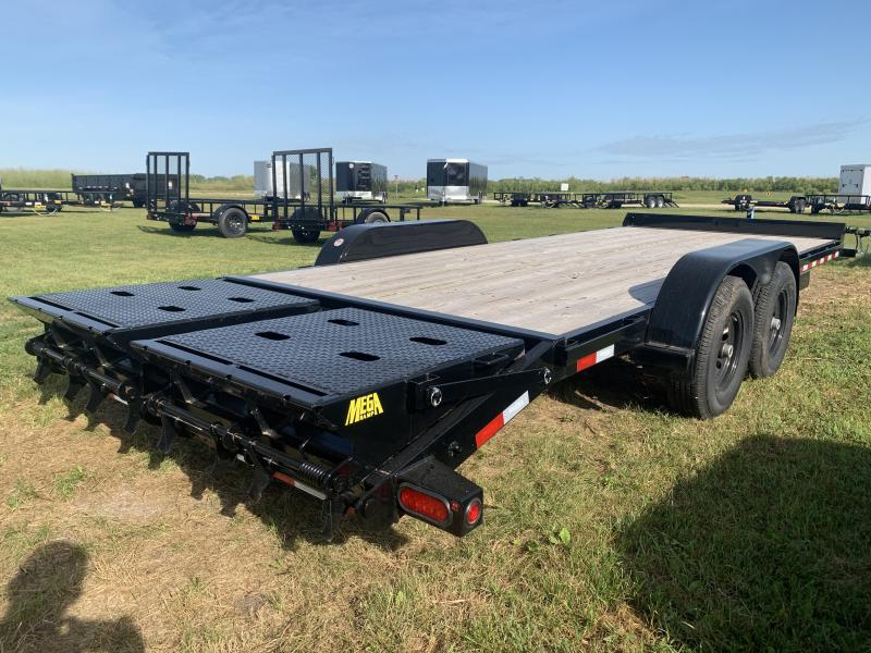 "2019 Big Tex Trailers 10ET 83"" x 20' Equipment Trailer"