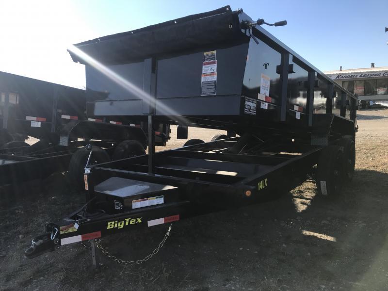 2019 BIG TEX 14LX 7' X 16' DUMP TRAILER