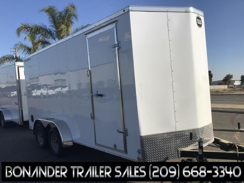 2019 Wells Cargo FT716T2-D Enclosed Cargo Trailer