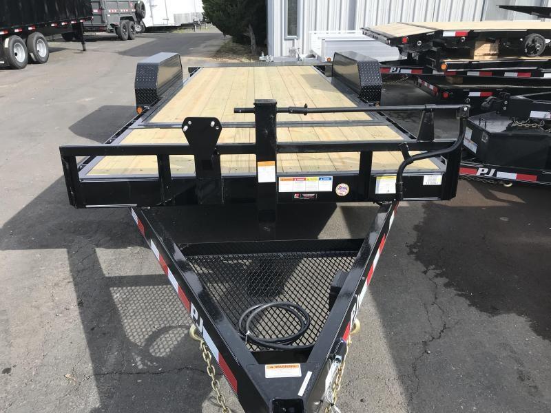 2019 PJ Trailers 20'X6 Channel Equipment Tilt (T6) Equipment Trailer