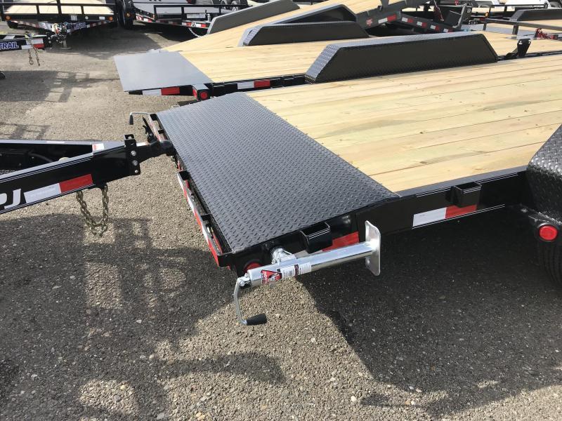 2019 PJ Trailers 18X 6 Channel Equipment (CC) Car / Racing Trailer