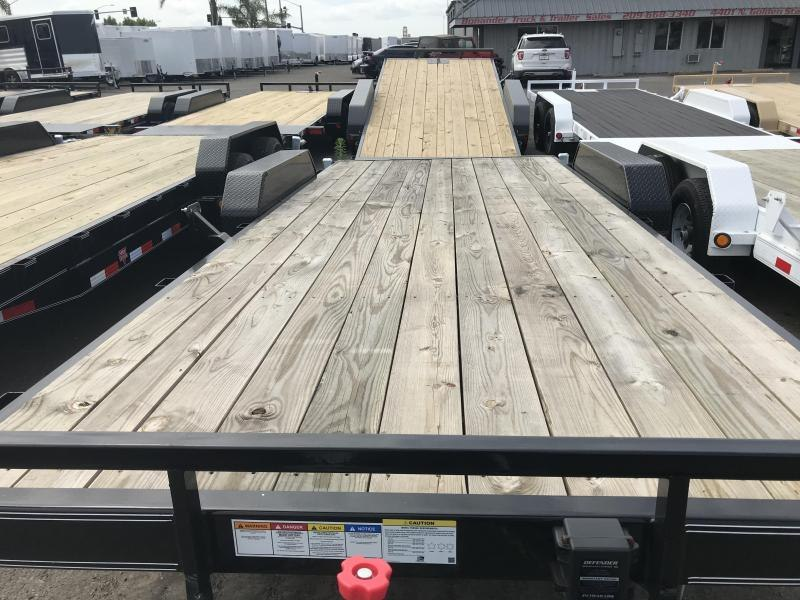 2019 PJ Trailers 20X5 CHANNEL EQUIPMENT