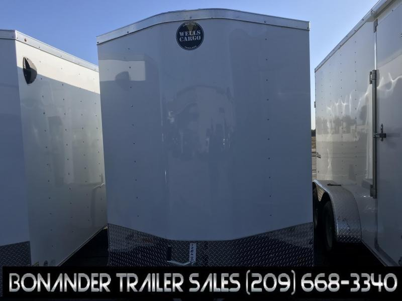 2020 Wells Cargo FAST TRAC 6X10 Enclosed Cargo Trailer