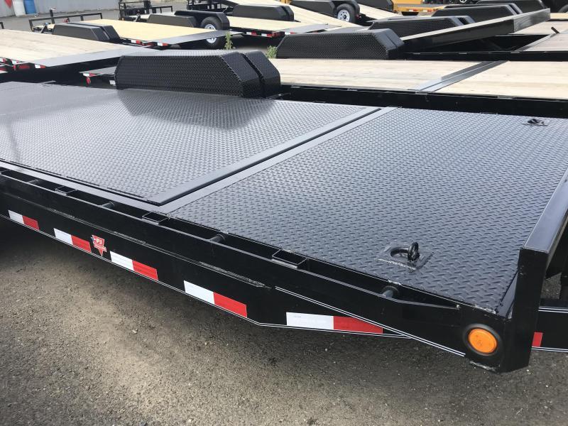 2019 PJ Trailers 6 in. Channel Equipment Tilt (T6) Equipment Trailer