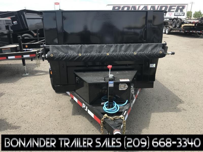 2020 PJ Trailers 10X60 Utility Dump (D5) Dump Trailer