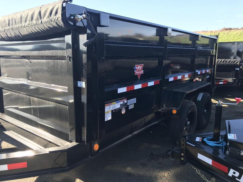 2020 PJ Trailers 83 Low Pro High Side Dump (DM) Dump Trailer