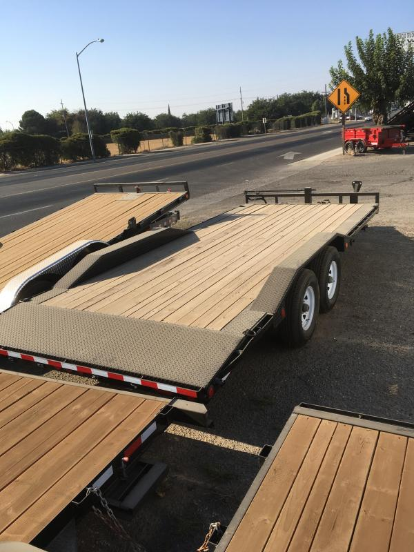 2019 PJ Trailers 20X6 Channel Super-Wide