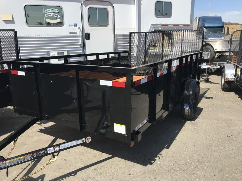 2020 Iron Panther LT251 Equipment Trailer