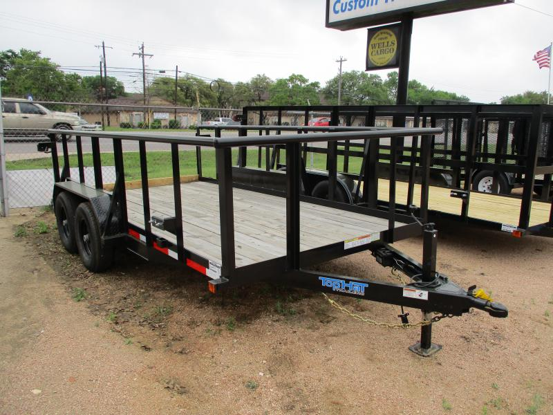 2019 Top Hat Trailers 14x83HP10K Utility Trailer