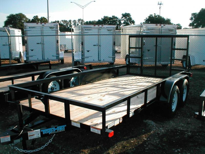 Top Hat Trailers 14EA Utility Trailer